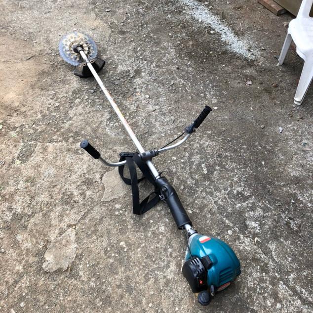 草刈り機 修理
