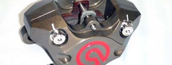 B2019 商品名: ブレンボ 削りリアキャリパー(カニピッチ) チタンコンプリートセット