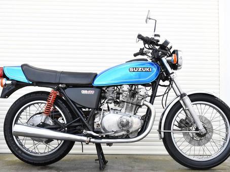 SUZUKI GS400 ブルー色(売約済み)