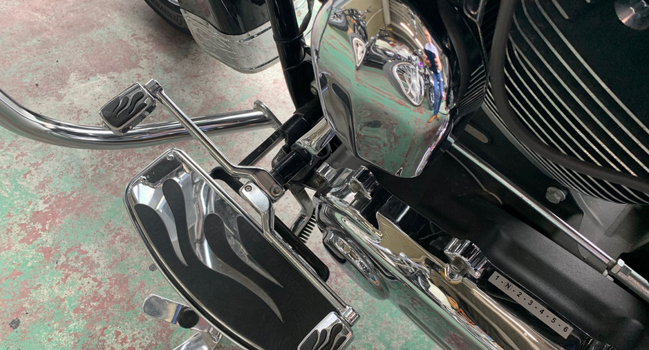 ハーレダビッドソン FLSTC1580 '08モデル ブラック 埼玉