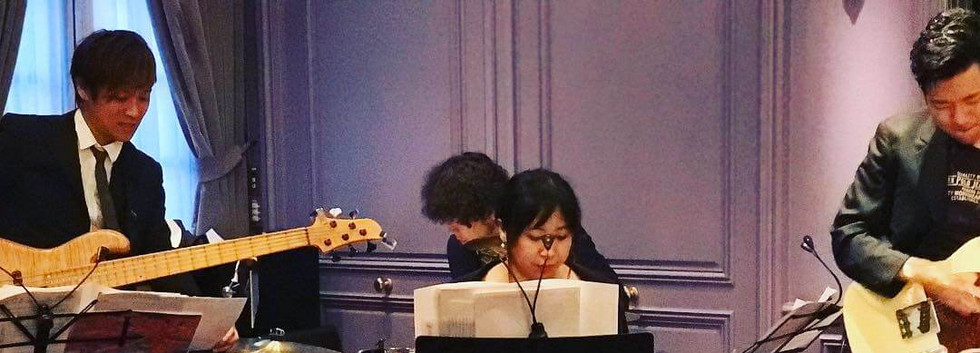 MUSIC FRONT バンド派遣 I 様 披露宴 生演奏