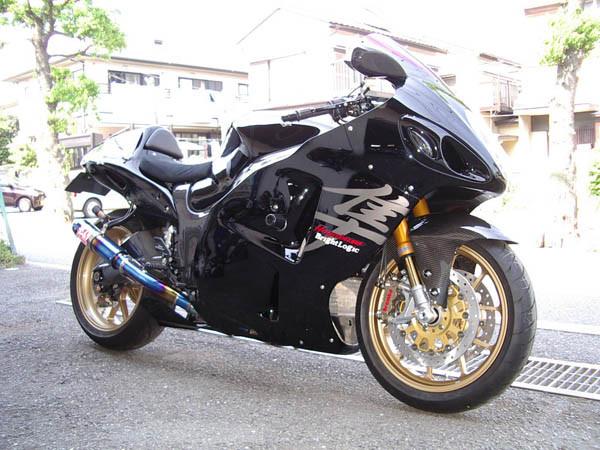 GSX1300 隼 ブラック