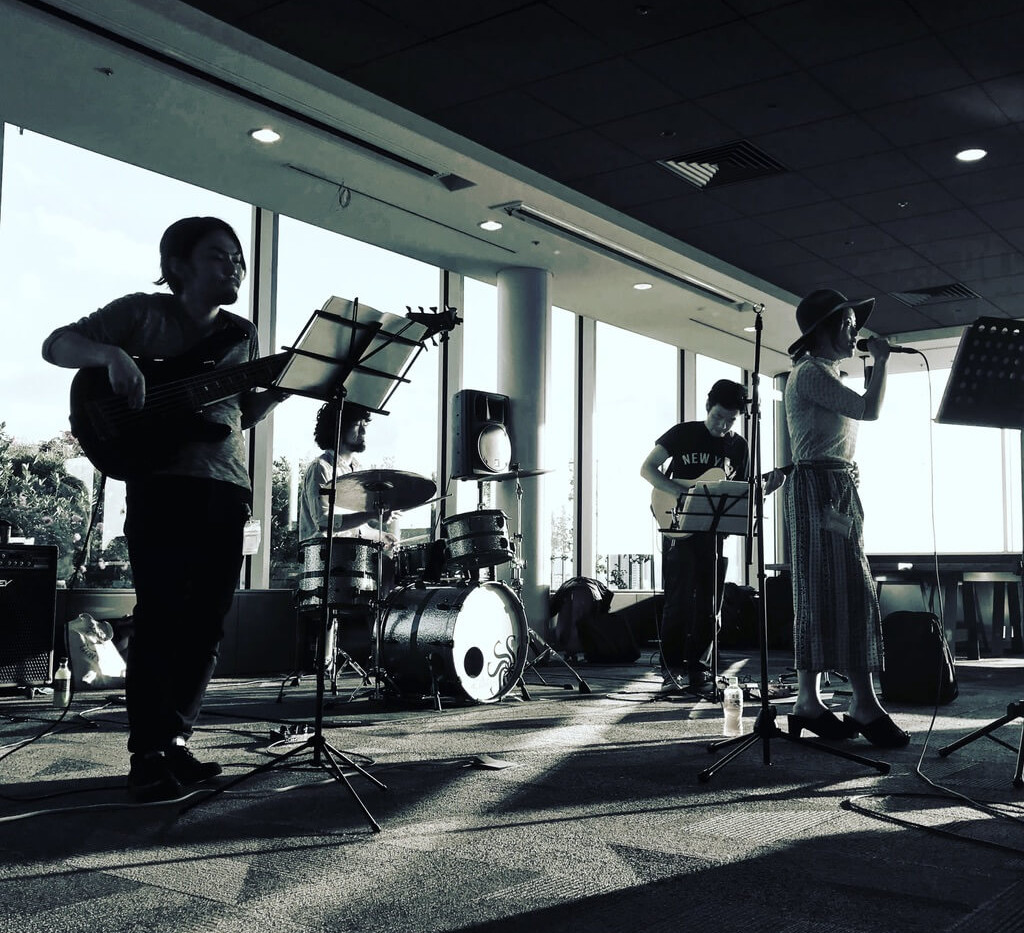 MUSIC FRONT バンド派遣 HP 様 社内パーティー