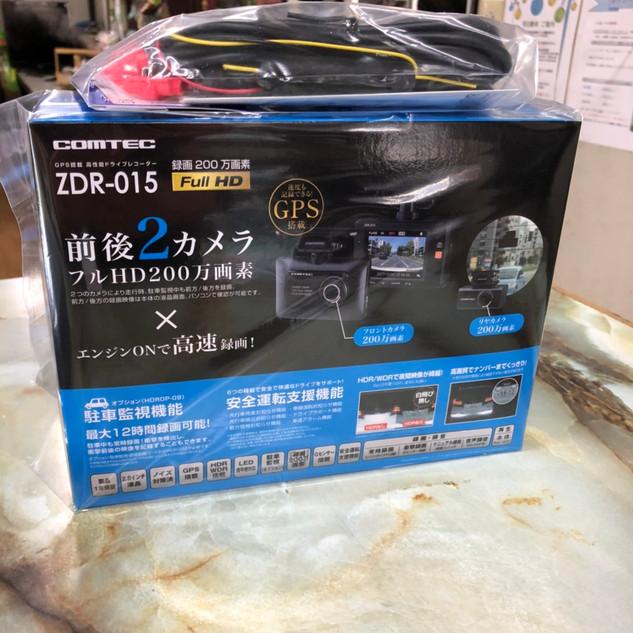 COMTEC ZDR-15 車載カメラ