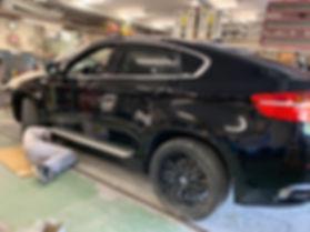 BMW 鈑金塗装 藤沢市