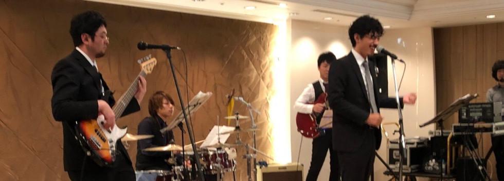 MUSIC FRONT バンド派遣 旅行会社様 ホテル生演奏