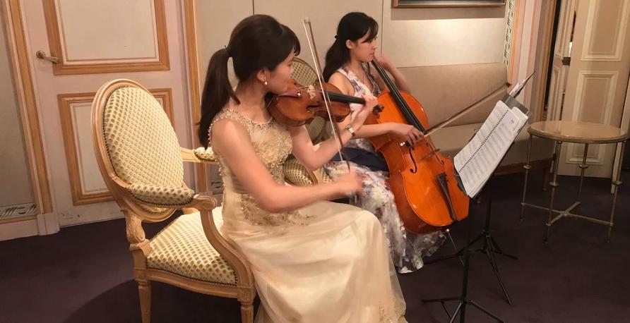 MUSIC FRONT バンド派遣 I 様 披露宴 生演奏  クラシック演奏