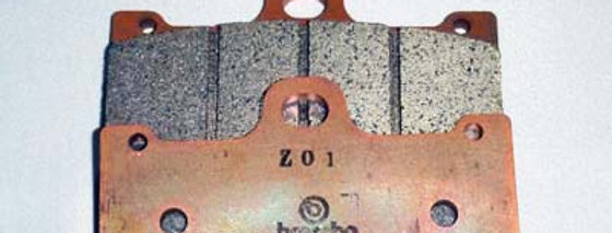 B2013 商品名:ブレンボ 32/36 キャリパー用 Z01 パット/1枚