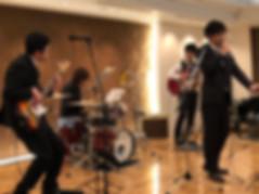 バンド生演奏 ブライダル