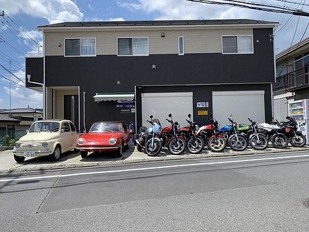 ビンテージカー専門店 ビンテージバイク専門店 輸入車販売 神奈川 RC ELEF
