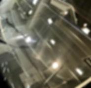 ウィンドガラス撥水加工