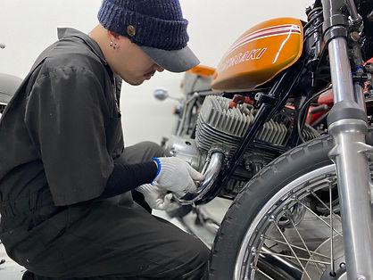 バイク修理 小田原市 MOTORCYCLE  SLOW LIFE
