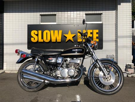 スズキ GT550 黒/金