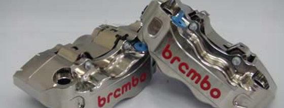 B2006 商品名: ブレンボ 30/34 ラジアル2ピースキャリパーセット(ニッケルコート仕様)(左右セット)