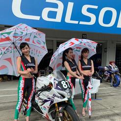 レース SUZUKA 8時間耐久 R2CLサンクロレラ