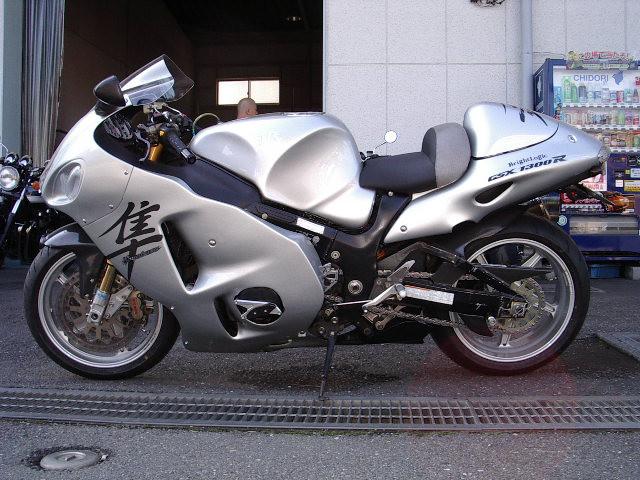 GSX1300 隼 シルバー