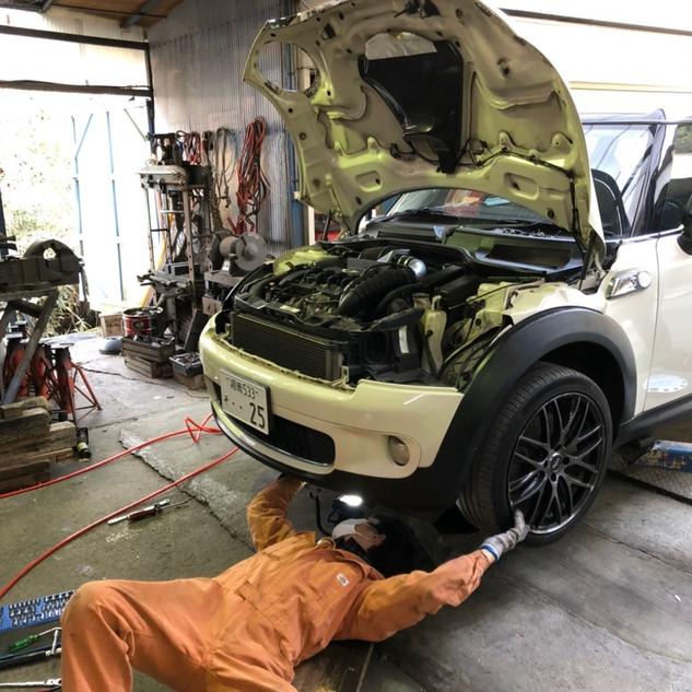 寄自動車 MINI 修理 整備