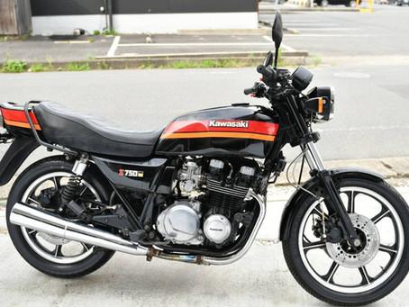 KAWASAKI Z750(売約済み)   ブラック色 ドイツ限定車 走行9,600Km 価格 105万円