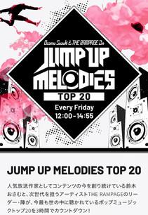 TOKYOFM「JUMP UP MELODIES TOP 20