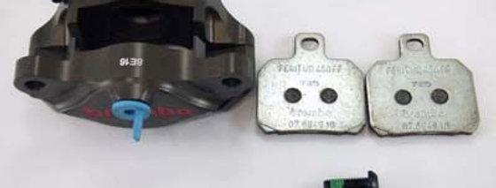 B2018 商品名: ブレンボ 削りリアキャリパー(カニピッチ)2ピース Ф34