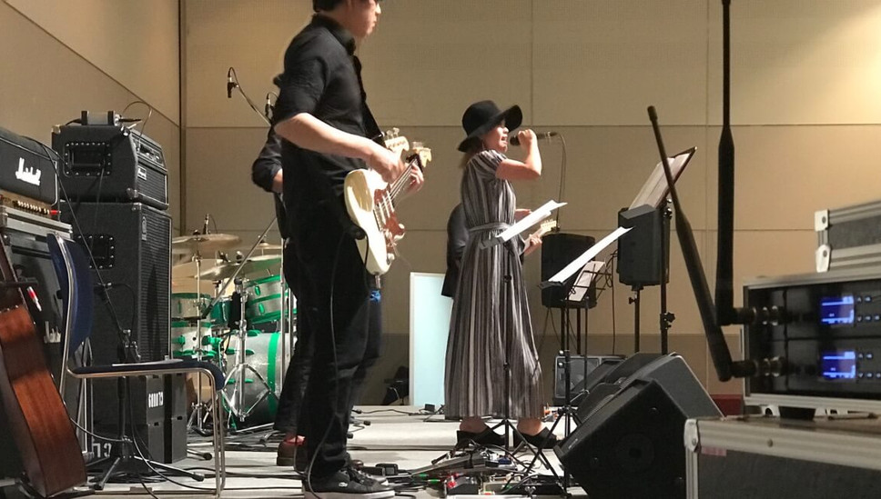 MUSIC FRONT バンド派遣 横浜パシフィコ