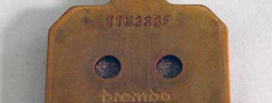 B2020 商品名:ブレンボ 削りリアキャリパー用 焼結パット