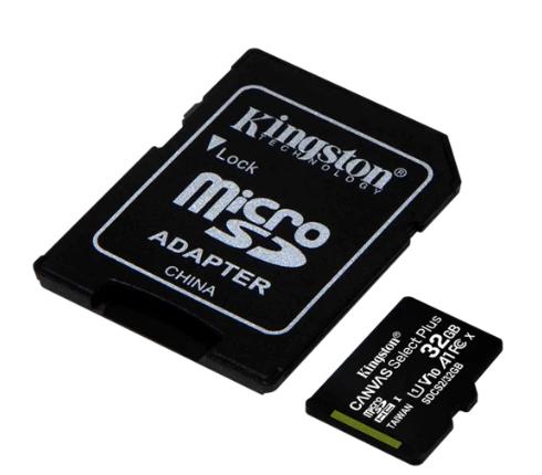 Memoria Micro Sd 32Gb Class 10 Kingston Canvas Sds2/32Gb Con Adapt