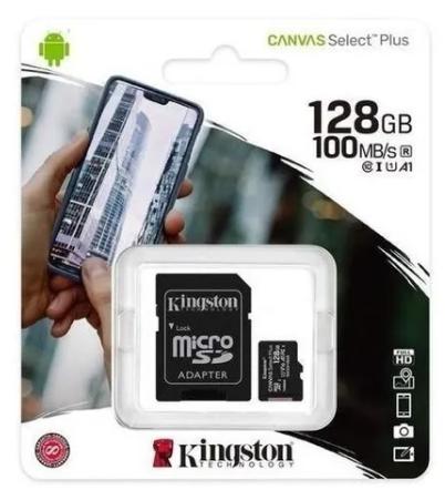 MEMORIA MICRO SD 128GB CLASS 10 KINGSTON SDCS2/128GB CON ADAPT