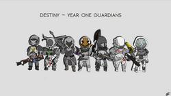 Destiny - Year One Guardians