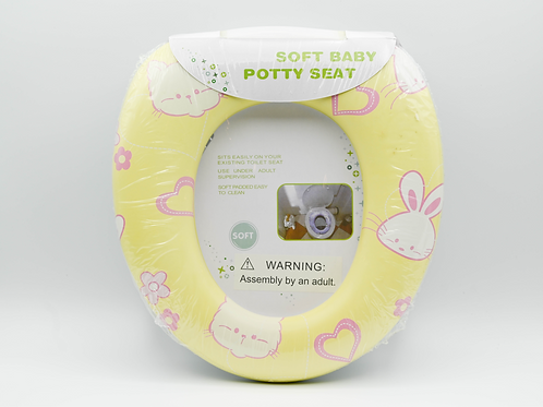 Cute Potty Training Seat For Girl, Fits Round & Oval Toilet