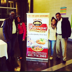 #promotionalevent #palenqueprovisions #rhodeisland we are here! #FeriaLatina2014 #excellentquality #