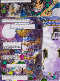 Through the Sands and the Kingdoms - Page 1