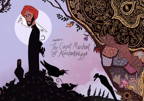 The Carpet Merchant of Konstantiniyya - Cover