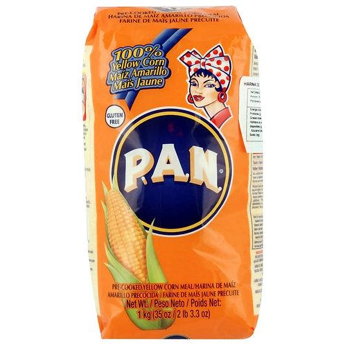 1kg PAN Maiz Amarillo - Glutenfri & GMO fri Majsmel