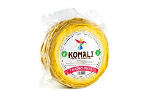250G / 15cm - 10 Tortillas Komali Tradicional GMO/Gluten Fri
