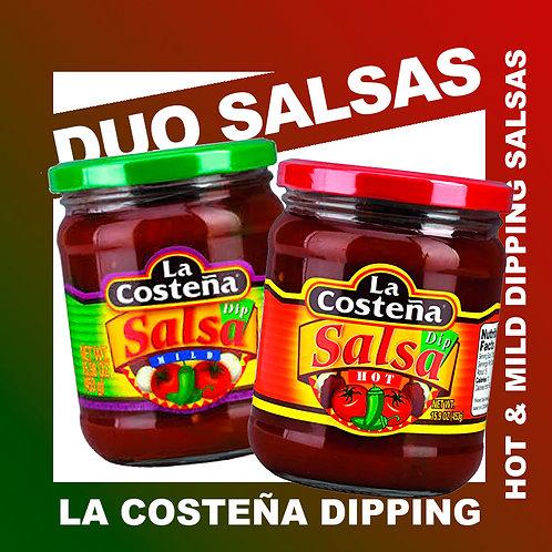 Salsas & Tortilla Chips Deal! 2x500g Salsas