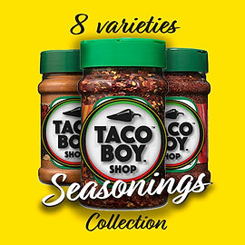 8-varieties-SeasoningsCollection-TacoBoy