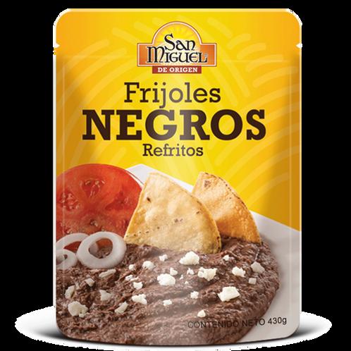 Frijoles Negros Refritos San Miguel 430g