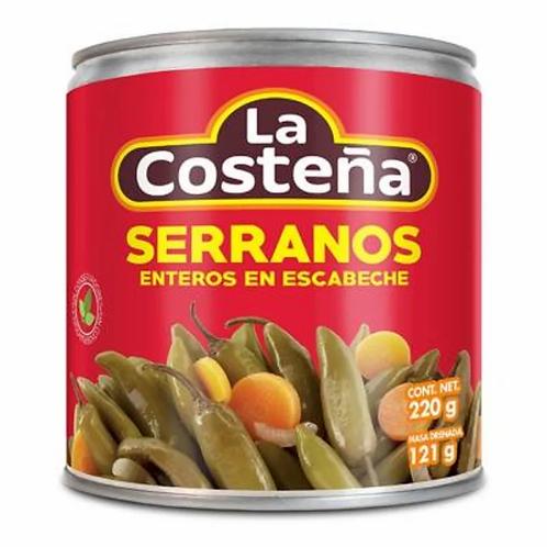 Serranos En Escabeche La Costeña