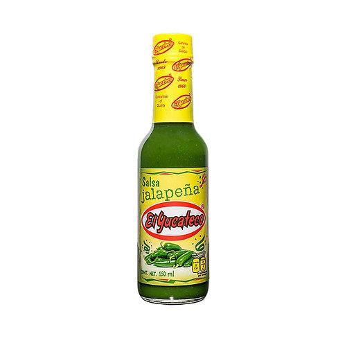 Salsa Jalapeña Verde El Yucateco 150ml