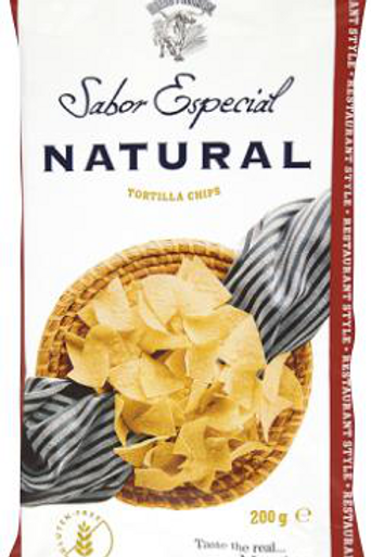 120g Natural Masa & Salt Gourmet Tortilla Chips