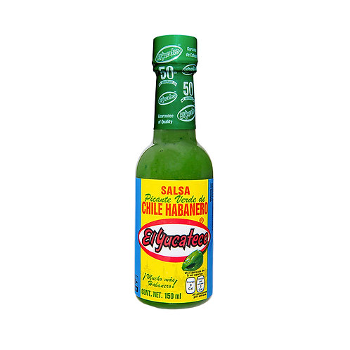Salsa Habanera Verde El Yucateco 120ml