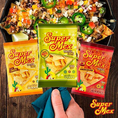 TRIO Nachos Salt, Cheese & BBQ - SuperMex®