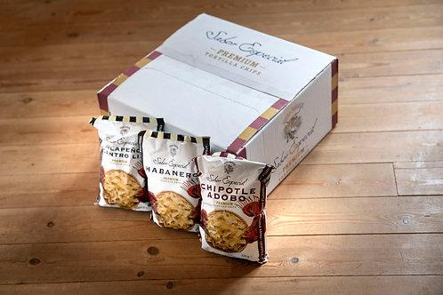 Kasse med 14stk -Habanero Premium Tortilla Chips 120g