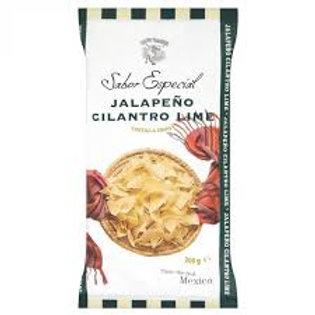 120g Masa Jalapeño Lime Gourmet Tortilla Chips