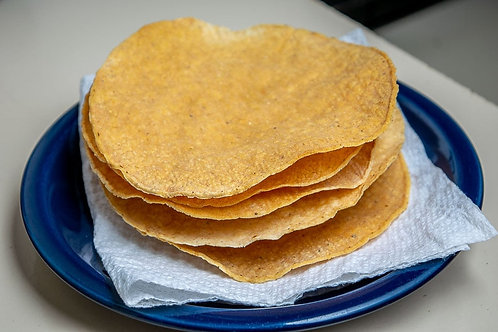 Frie or bake your Tostadas or Totopos