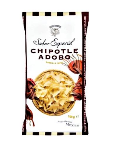 120g Masa Tortilla Chips med Chipotle Adobo - Gourmet