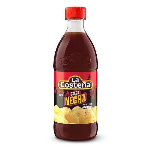 Salsa Negra con Tamarindo La Costeña negra 360 ml