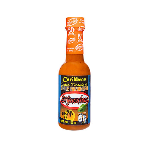 Salsa Habanera Caribbean El Yucateco 120ml