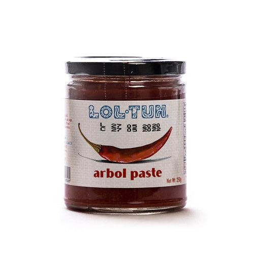 250g Chile Arbol Paste / Pasta de Chile Arbol
